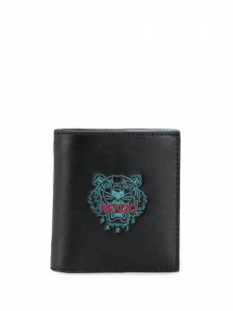 Kenzo logo-print leather wallet FA65PM303L48