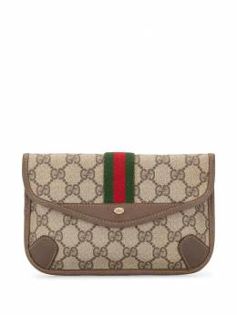 Gucci Pre-Owned клатч Shelly Line с узором GG 8901021