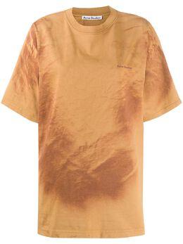 Acne Studios футболка с принтом AL0150