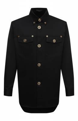 Хлопковая рубашка Versace A80289/A229958