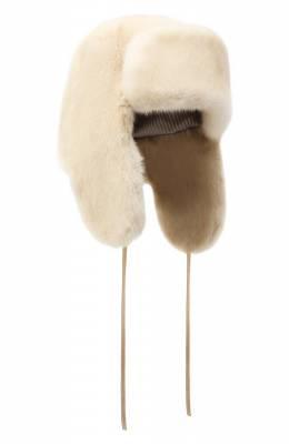 Меховая шапка-ушанка Лея Furland 0231200110139600700