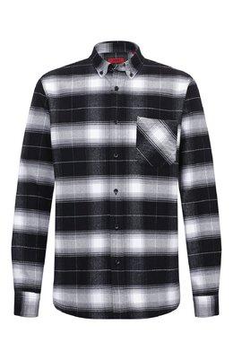 Хлопковая рубашка Hugo 50438114