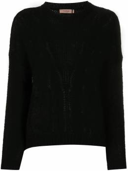 Twin-Set cable knit jumper 202TP3191