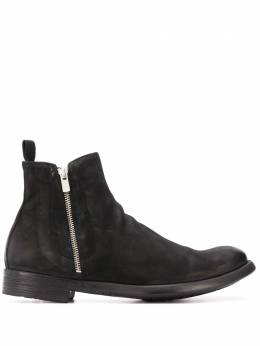 Officine Creative cracked-effect ankle boots OCUHIVE009ANTAR1000