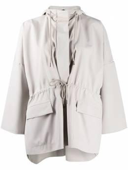 Max Mara drawstring hooded jacket 302601066