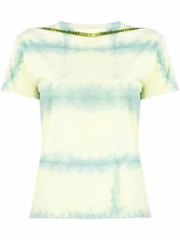 Collina Strada футболка Spice с принтом тай-дай XX3510
