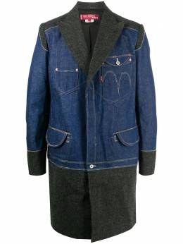 Junya Watanabe Man пальто из коллаборации с Levi's WFC00505114