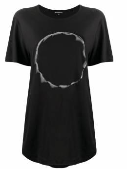 Ann Demeulemeester graphic-print cotton T-shirt 20023979W232