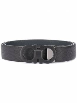 Salvatore Ferragamo Gancini buckle belt 67A279