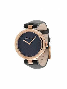 Gucci Diamantissima leather watch YA141401