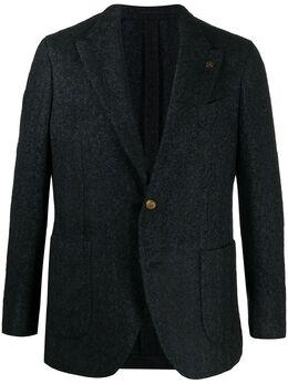 Gabriele Pasini однобортный пиджак с узором шеврон G16086GGP16463