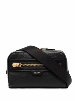 Tom Ford Black grained leather belt bag H0435TLCL037