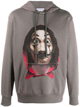 Ih Nom Uh Nit long sleeve printed hoodie NUW20279