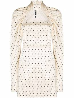 Rotate kaya polka dot dress 901461