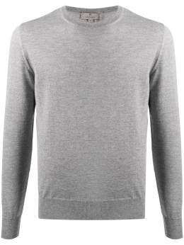 Canali round neck long-sleeved jumper C0012MK00077