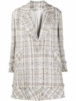 Alice + Olivia Stefan knitted coat CC008O06403