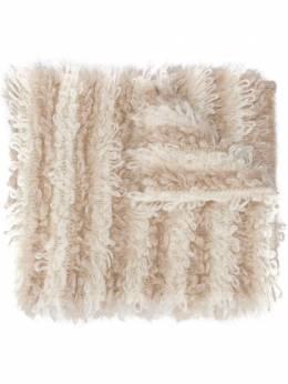 Brunello Cucinelli вязаный шарф в полоску M1U376499CI369