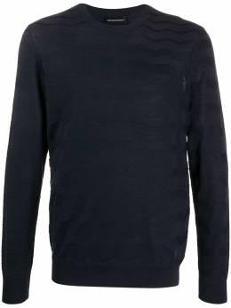 Emporio Armani рубашка с нагрудным карманом 3H1MTC1MLUZ