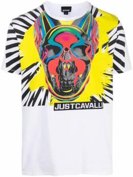 Just Cavalli футболка с логотипом S03GC0613N20663