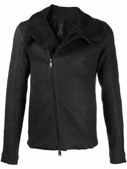 Transit zip-up leather jacket CFUTRMR270