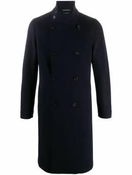 Emporio Armani двубортное пальто 91L28091354