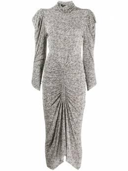 Isabel Marant платье миди с абстрактным принтом RO180420A032I
