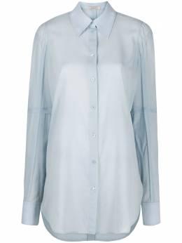 Nina Ricci удлиненная рубашка с классическим воротником 20HCTO035WO0334U4376