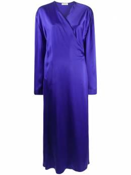 Nina Ricci платье макси с запахом 20HCRO044SE1344U3094