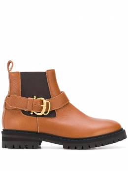 Pollini ботинки с пряжками PA21153H0BPB1