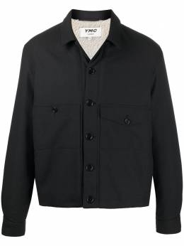 Ymc Pinkley pointed collar shirt jacket P5PAA