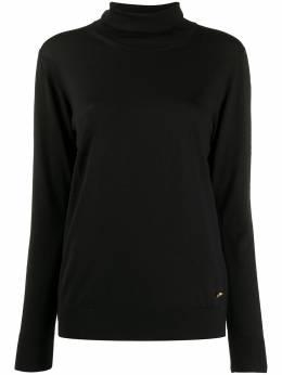 Versace трикотажный джемпер с высоким воротником A87198A235892