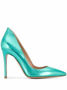 Gianvito Rossi metallic stiletto pumps G2073015RICNPS
