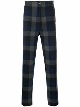 Kenzo checked tailored trousers FA65PA5001RG
