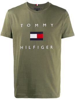 Tommy Hilfiger logo print T-shirt MW0MW14313
