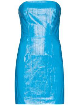 Rotate Herla vegan leather mini dress 901514