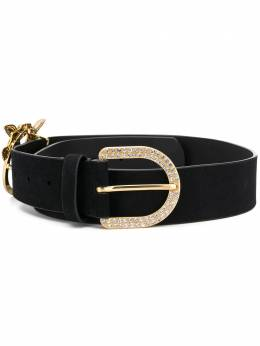 Pinko double buckle wide belt 1P21YQY6QNZ99