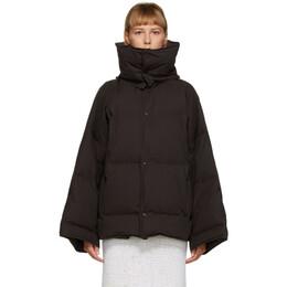 Bottega Veneta Brown Down Puffer Coat 632739 VKH50