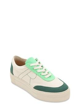 30mm Bailey Cotton Canvas Sneakers Rejina Pyo 72IY0N005-R1JFRU41