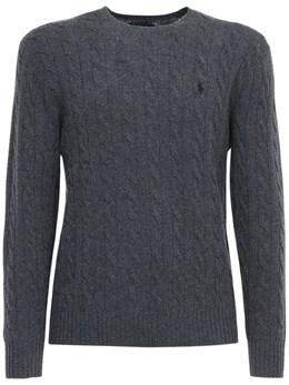 Wool & Cashmere Knit Sweater Polo Ralph Lauren 72IVU0025-MDAy0
