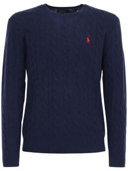 Wool & Cashmere Knit Sweater Polo Ralph Lauren 72IVU0025-MDEy0