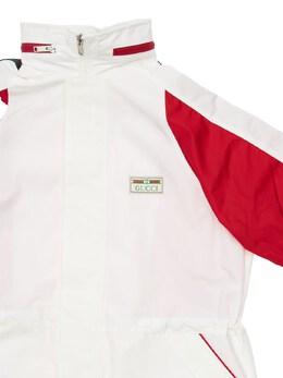 Куртка Из Нейлона С Аппликациями Gucci 72IFH9002-OTY5Mg2