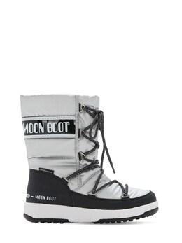 Сапоги Из Нейлона С Принтом Moon Boot 72I0N5009-MDA20