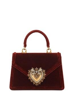 Mini Devotion Velvet Top Handle Bag Dolce&Gabbana 72I0CE008-OE0zMDc1