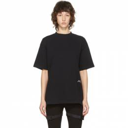 A-Cold-Wall* Black Classic Logo T-Shirt ACWMTS028