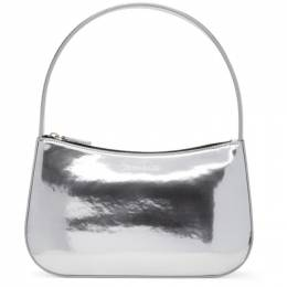 Kwaidan Editions Silver Metallic Lady Bag AW20XB010W_MP