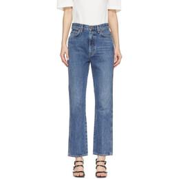 Agolde Blue Pinch Waist High Rise Kick Jeans A095-811
