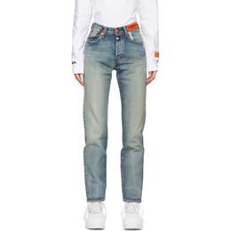Heron Preston Blue Levis Edition Denim 501 Jeans HWYA008R209250047300