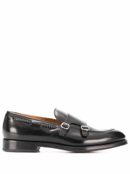Doucal's monk strap leather shoes DU2617ORVIUF007