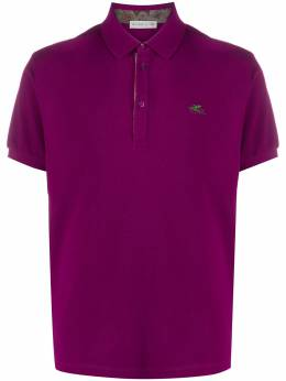 Etro logo embroidered polo shirt 1Y1429770