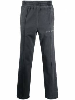Palm Angels GARMENT DYED TRACK PANTS BLACK BLACK PMCA084F20FAB0031010